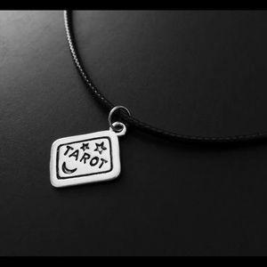 Tarot Card Charm Necklace Brand New